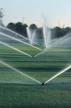 Системы полива для гольф-полей и спортивных комплексов