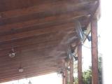 Вентилятор туманный для террас Киев