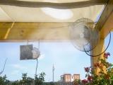 Туманный вентилятор для открытых площадок Киев