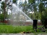 Автоматический полив Rain Bird газон лужайка Киев