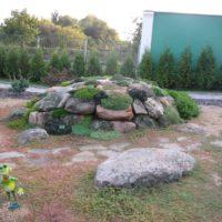 Камни в ландшафте